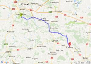 Mosina (wielkopolskie) - Pleszew (wielkopolskie)