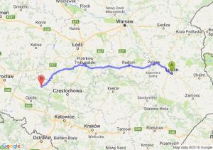 Trasa Lublin - Ligota Górna