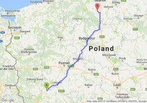 Głogów - Starogard Gdański