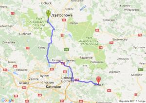 Trasa Blachownia - Olkusz