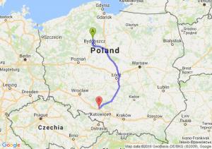 Trasa Koronowo - Strzelce Opolskie