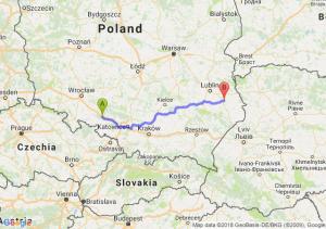 Trasa Dąbrówka Górna - Krasnystaw