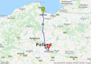 Trasa Gdańsk - Włocławek