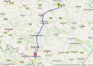Trasa Pruszków - Bielsko-Biała