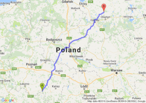 Krotoszyn (wielkopolskie) - Dobre Miasto (warmińsko-mazurskie)