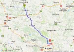 Trasa Antonin - Pyrzowice