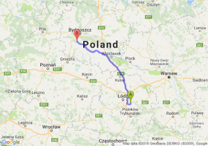 Trasa Borowa - Łabiszyn