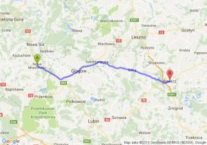 Nowe Miasteczko (lubuskie) - Rawicz (wielkopolskie)
