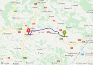 Trasa Jarosław - Rzeszów