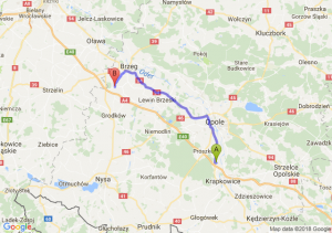 Trasa Dąbrówka Górna - Przylesie