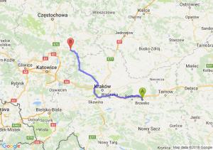 Trasa Brzesko - Zawiercie