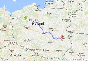 Trasa Piła - Lublin