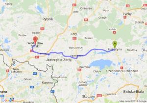 Trasa Pszczyna - Wodzisław Śląski