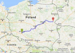 Trasa Wrocław - Siemiatycze