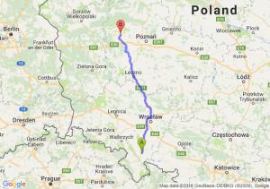 Trasa Ząbkowice Śląskie - Pniewy