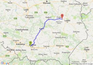 Trasa Balice - Kurów
