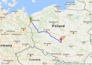 Trasa Gryfino - Szczerców