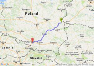Trasa Biała Podlaska - Łaziska Górne