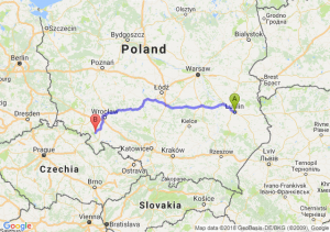 Trasa Lublin - Bielawa