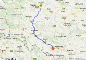 Trasa Września - Rybnik