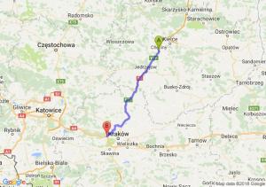 Trasa Chęciny - Balice