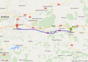 Trasa Brzesko - Wieliczka