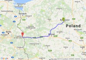 Trasa Białe Błota - Słubice