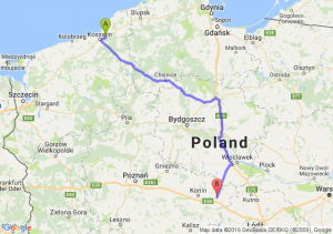 Sianów (zachodniopomorskie) - Koło (wielkopolskie)
