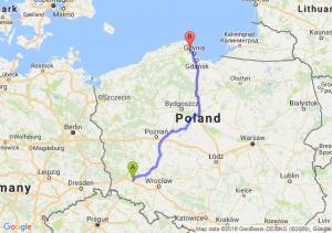 Trasa Chojnów - Reda