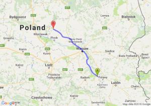 Trasa Bąkowiec - Sierpc