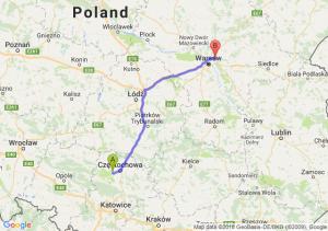 Trasa Blachownia - Zielonka