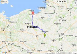Trasa Białobrzegi - Tczew