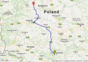 Trasa Blachownia - Wyrzysk