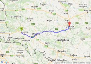 Trasa Chojnów - Srock