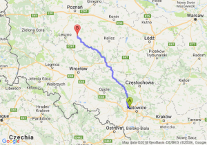 Trasa Zabrze - Gostyń