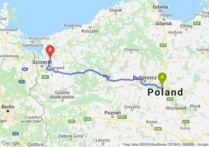 Trasa Toruń - Goleniów