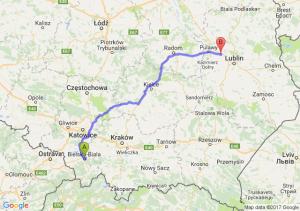Trasa Bielsko-Biała - Markuszów