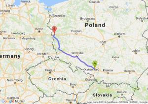 Trasa Gliwice - Rzepin