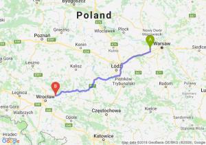 Trasa Błonie - Oleśnica