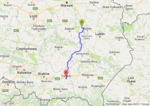 Trasa Bąkowiec - Tarnów
