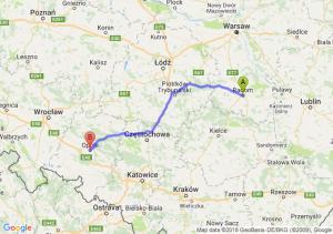 Trasa Radom - Opole