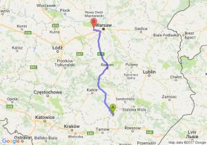 Trasa Borowa - Święcice