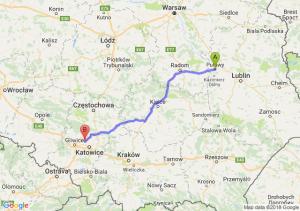 Trasa Puławy - Bytom