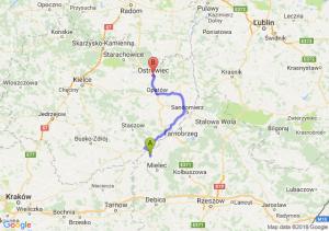 Trasa Borowa - Ostrowiec Świętokrzyski