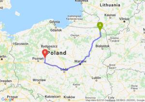 Trasa Suwałki - Gniezno
