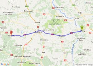 Trasa Puławy - Przysucha