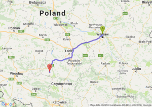 Trasa Annopol - Wieluń