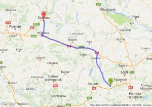 Trasa Łask - Gniezno