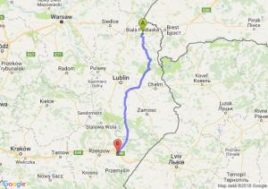 Trasa Biała Podlaska - Przeworsk