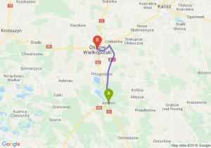 Trasa Antonin - Ostrów Wielkopolski